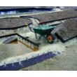 ProEdge Fémszegély 2500x125x2,5mm Horganyzott+Barna