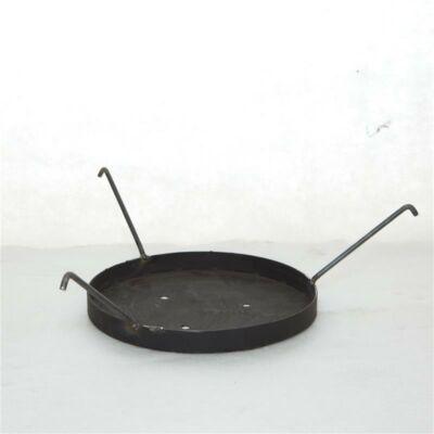 Kör alakú hamu fogó tálca