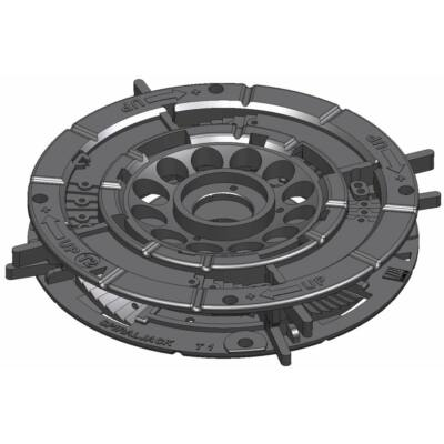 SpiraPave T12 Talpazat állítható: 18 - 23 mm között