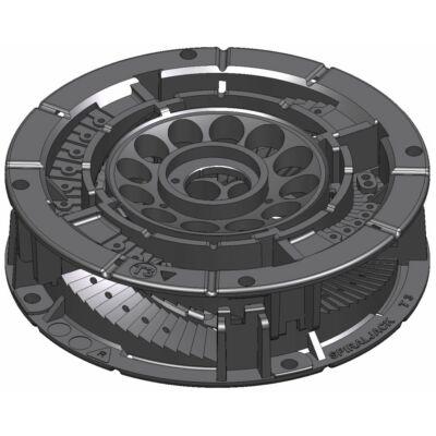 SpiraPave T33 Talpazat állítható: 30 - 44 mm között