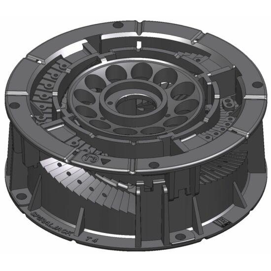 SpiraPave T34 Talpazat állítható: 45 - 59 mm között