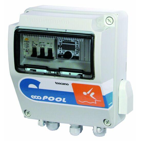ECO-POOL-230-D-T100 vezérlődoboz
